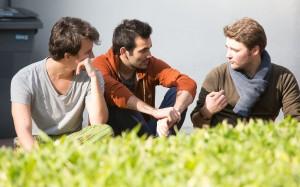 Students chatting at IÉSEG